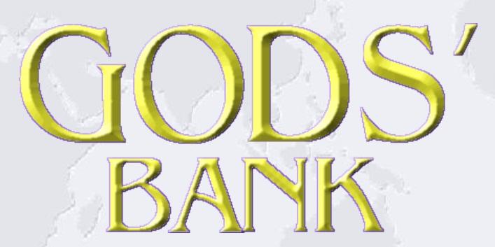 Rugaciunea constienta si God`s Bank