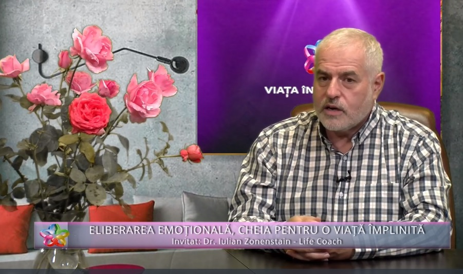 Eliberarea emotionala – cheia pentru o viata implinita – Interviu cu Gina Cosnete la Piatra Neamt septembrie 2021